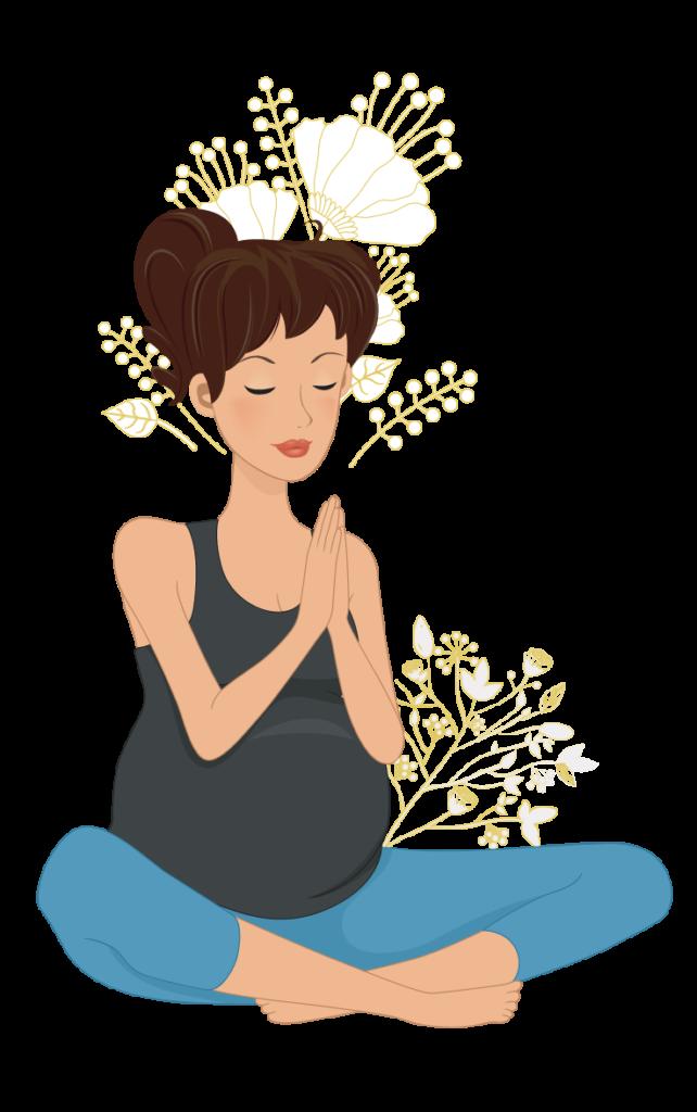 illustration femme enceinte