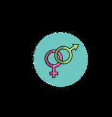 icône du symbole homme femme